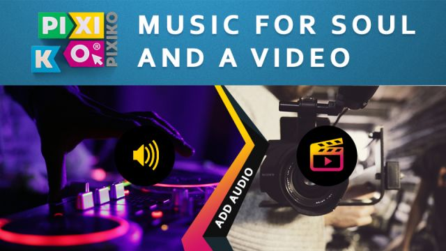 Add music to video online