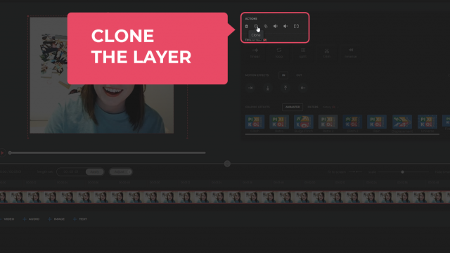 Clone the layer